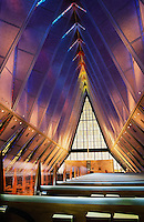 Aiforce Academy Chapel, Colorado, USA.