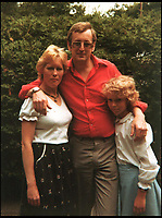 BNPS.co.uk (01202 558833)<br /> Pic: Collect/BNPS<br /> <br /> Russell Causley, his wife Veronica and their daughter Samantha.<br /> <br /> A grieving daughter has today spoken of her outrage that her father could be released from prison later this year without having told her what he did with her mother's body.<br /> <br /> Russell Causley has spent 21 years in prison for the 1985 murder of his wife Carole Packman, becoming one of the first killers in UK history to be found guilty without his victim's remains ever being found. <br /> <br /> Causley was jailed 11 years after Carole's disappearance following confessions to cellmates while serving time in prison for fraud - a sentence he was handed after a lavish attempt to fake his own death as part of an insurance scam in 1993. <br /> <br /> Carole's daughter Samantha Gillingham, 48, successfully pleaded with the Parole Board in 2014 to keep Causley incarcerated, but is now braced for a fresh parole hearing on a date that is yet to be set between September and January.