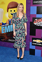 WESTWOOD, CA - FEBRUARY 02: Riki Lindhome attends the Premiere Of Warner Bros. Pictures' 'The Lego Movie 2: The Second Part' at Regency Village Theatre on February 2, 2019 in Westwood, California.<br /> CAP/ROT/TM<br /> ©TM/ROT/Capital Pictures