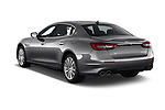 Car pictures of rear three quarter view of a 2018 Maserati Quattroporte S 4 Door Sedan angular rear