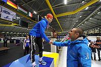 SCHAATSEN: HEERENVEEN: IJsstadion Thialf, 30/31-01-15, Viking Race, Internationaal Jeugdtoernooi 11-16 jaar, Helga Drost (G-FR), ©foto Martin de Jong