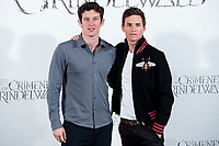 English actor Callum Turner and british actor Eddie Redmayne attends to presentation of film 'Fantastic Beasts: The Crimes of Grindelwald' (Animales Fantásticos: Los Crímenes de Grindelwald) at Hotel Villa Magna in Madrid, Spain. November 16, 2018. (ALTERPHOTOS/Borja B.Hojas) /NortePhoto.com