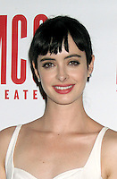 June 14 , 2012 Krysten Ritter attends the MCC Theater's benefit reading of The Heart Of The Matter afterparty  at the Ramscale in New York City. © RW/MediaPunch Inc. NORTEPHOTO.COM<br />