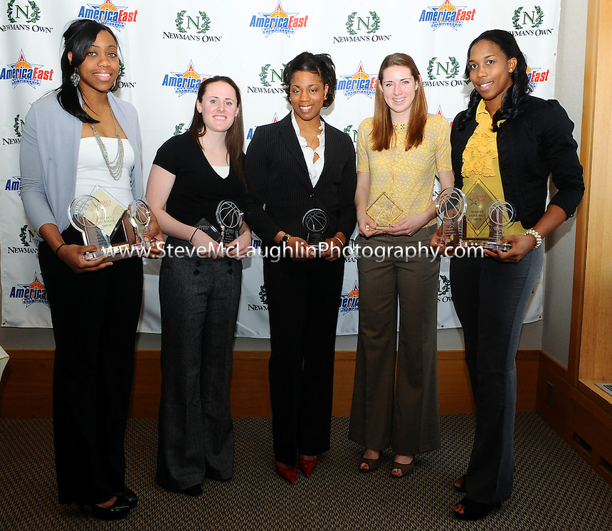 America East Women's Basketball 2010 Awards Lunch.