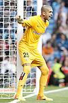 Almeria's Ruben Martinez during La Liga match. April 29,2015. (ALTERPHOTOS/Acero)