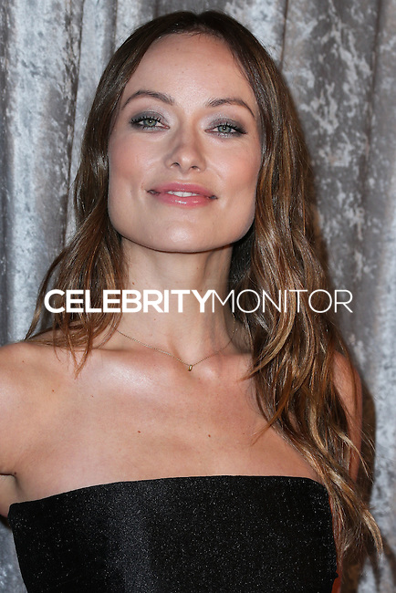 BEVERLY HILLS, CA, USA - OCTOBER 28: Olivia Wilde arrives at the 25th Annual Courage in Journalism Awards held at the Beverly Hilton Hotel on October 28, 2014 in Beverly Hills, California, United States. (Photo by Xavier Collin/Celebrity Monitor)