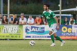 04.09.2018, Hoheellern-Stadion, Leer, GER, FSP, Werder Bremen (GER) vs FC Emmen (NED)<br /> <br /> DFL REGULATIONS PROHIBIT ANY USE OF PHOTOGRAPHS AS IMAGE SEQUENCES AND/OR QUASI-VIDEO.<br /> <br /> im Bild / picture shows<br /> Nuri Sahin (Werder Bremen #17), <br /> <br /> Foto © nordphoto / Ewert
