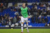 Kieran Trippier of Tottenham Hotspur warms up during the UEFA Europa League group match between Tottenham Hotspur and Monaco at White Hart Lane, London, England on 10 December 2015. Photo by Andy Rowland.