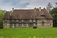 France, Calvados (14), Pays d' Auge, Bellou , le manoir// France, Calvados, Pays d' Auge, Bellou , the manor