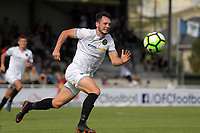 Team Wellington's Eric Molloy in action during the 2018 OFC Champions League semifinal between Auckland City FC and Team Wellington at Kiwitea St in Auckland, New Zealand on Sunday, 29 April 2018. Photo: Dave Lintott / lintottphoto.co.nz