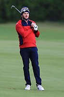 Damien Perrier (FRA) on the 7th fairway during Round 2 of the Challenge Tour Grand Final 2019 at Club de Golf Alcanada, Port d'Alcúdia, Mallorca, Spain on Friday 8th November 2019.<br /> Picture:  Thos Caffrey / Golffile<br /> <br /> All photo usage must carry mandatory copyright credit (© Golffile | Thos Caffrey)