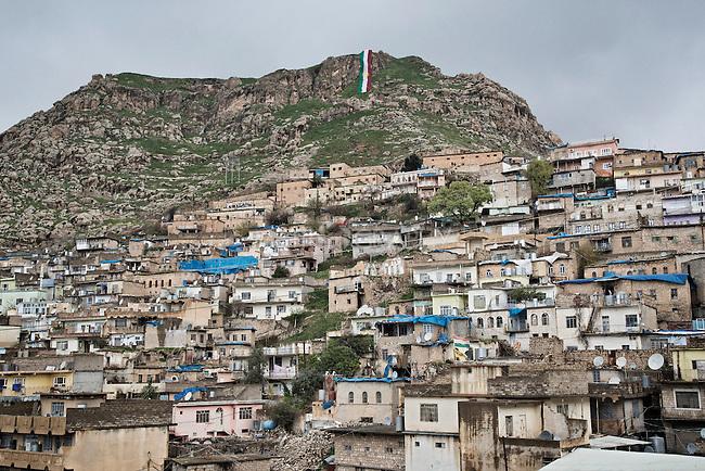 20/03/15 -- Akre, Iraq -- The city of Akre, in Iraqi Kurdistan, prepares for Newroz celebrations.