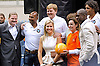 "CROWN PRINCESS MAXIMA AND CROWN PRINCE WILLEM-ALEXANDER.visit the Maracana soccer stadium  which is being renovated for the 2014 World Cup and 2016 Olympics..They were welcomed by Marcia Lins, State Secretary from the Rio de Janeiro government..They also met Dutch football player Clarence Seedorf and Dutch retired football player Pierre van Hooijdonk, with whom the Prince played a panna knock out football game.Mandatory Credit Photo: ©NEWSPIX INTERNATIONAL..**ALL FEES PAYABLE TO: ""NEWSPIX INTERNATIONAL""**..IMMEDIATE CONFIRMATION OF USAGE REQUIRED:.Newspix International, 31 Chinnery Hill, Bishop's Stortford, ENGLAND CM23 3PS.Tel:+441279 324672  ; Fax: +441279656877.Mobile:  07775681153.e-mail: info@newspixinternational.co.uk"