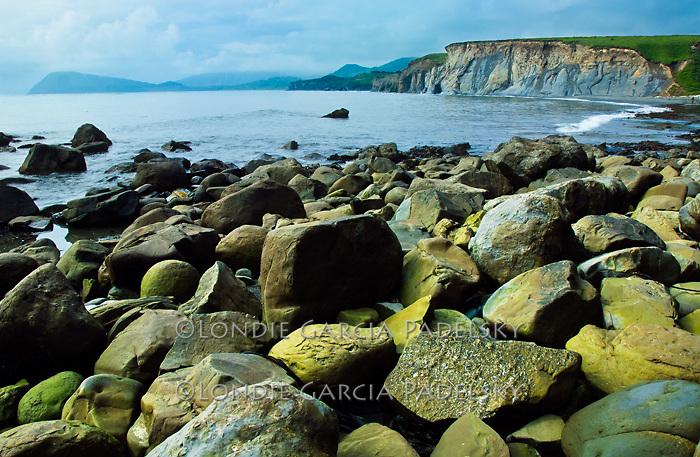 Fossil Beach at Narrow Cape, Kodiak Island, South-Western Alaska