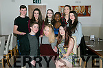 Yvette Daly from Ballyard celebrating her 16th birthday with friends on Saturday at La Scala's   Front l-r  Kieran Dowd, Yvette Daly and Sophie Knightly. Back l-r Brendan Walsh, Fiona Murray, Niamh Furlong, Rurvdzo, Aoife Murphy and Linda O'Connor.