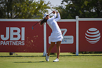 Maria Fassi (MEX) watches her tee shot on 12 during the round 3 of the Volunteers of America Texas Classic, the Old American Golf Club, The Colony, Texas, USA. 10/5/2019.<br /> Picture: Golffile   Ken Murray<br /> <br /> <br /> All photo usage must carry mandatory copyright credit (© Golffile   Ken Murray)