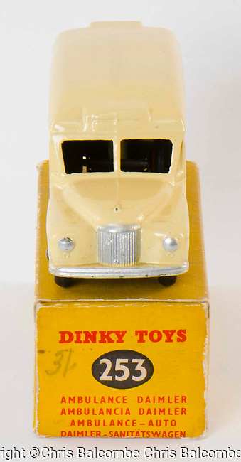 Dinky Toys and boxes for Nick Powner at Abbey Models<br /> <br /> Pic: Chris Balcombe<br /> <br /> 07568 098176<br /> Office: 023 80 849187 Examples of toy vehicles dating from the 1930's through to the 1980's, which have passed through Chris' hands over the years.<br />