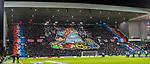 20.02.2020 Rangers v SC Braga: Rangers tifo