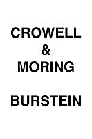 Crowell & Moring Burstein