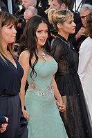 Salma Hayek at the gala screening for &quot;Girls of the Sun&quot; at the 71st Festival de Cannes, Cannes, France 12 May 2018<br /> Picture: Paul Smith/Featureflash/SilverHub 0208 004 5359 sales@silverhubmedia.com