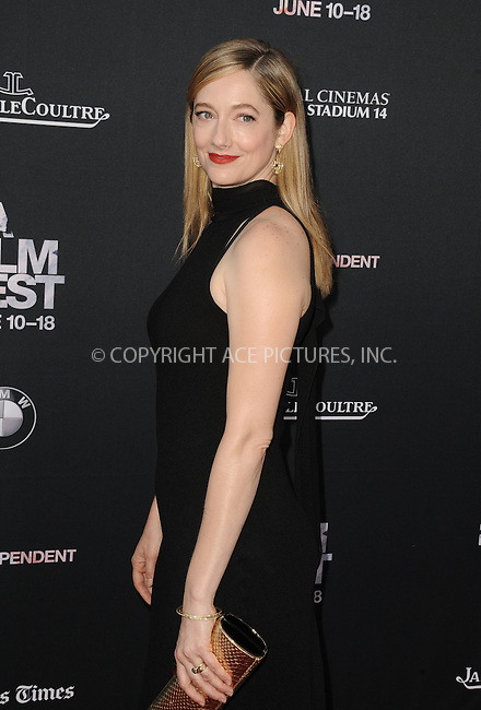 WWW.ACEPIXS.COM<br /> <br /> June 10 2015, Los Angeles Ca<br /> <br /> Judy Greer arriving at the 'Grandma' premiere at Regal Cinemas on June 10 2015 in Los Angeles Ca.<br /> <br /> Please byline: Peter West/ACE Pictures<br /> <br /> ACE Pictures, Inc.<br /> www.acepixs.com<br /> Email: info@acepixs.com<br /> Tel: 646 769 0430