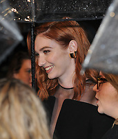 Eleanor Tomlinson at the &quot;Colette&quot; BFI Patron's film gala, 62nd BFI London Film Festival 2018, Cineworld Leicester Square, Leicester Square, London, England, UK, on Thursday 11 October 2018.<br /> CAP/CAN<br /> &copy;CAN/Capital Pictures /MediaPunch ***NORTH AND SOUTH AMERICAS ONLY***