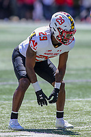 College Park, MD - April 27, 2019:  Maryland Terrapins defensive back Sean Savoy (29) in action during the spring game at  Capital One Field at Maryland Stadium in College Park, MD.  (Photo by Elliott Brown/Media Images International)