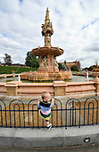 The Doulton Fountain on Glasgow Green - - Picture by Donald MacLeod - 22.08.11 - 07702 319 738 - www.donald-macleod.com