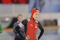 SCHAATSEN: SALT LAKE CITY: Utah Olympic Oval, 15-11-2013, Essent ISU World Cup, 500m, Hong Zhang (CHN), ©foto Martin de Jong