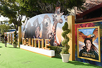 """11 January 2020 - Westwood, California - General Atmosphere. Premiere Of Universal Pictures' """"Dolittle"""" held at the Regency Village Theatre. Photo Credit: Billy Bennight/AdMedia"""