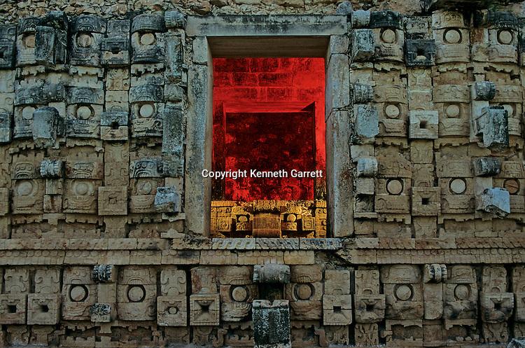 Maya; Yucatan; Kabah, God Chac