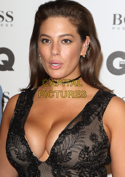 Ashley Graham at the GQ Men of the Year Awards 2016 - in association with Hugo Boss -  Tate Modern, Bankside, London on 6th September 2016<br /> CAP/ROS<br /> &copy;ROS/Capital Pictures