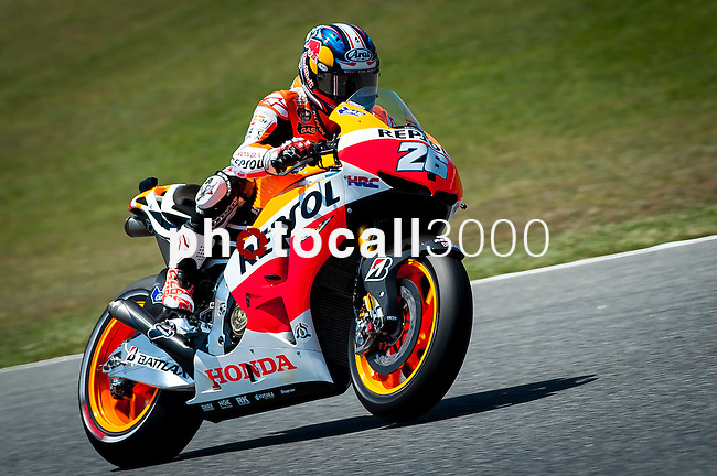 MotoGP grand prix of Catalunya. during 14, 15 and 16 of june. Dani Pedrosa.