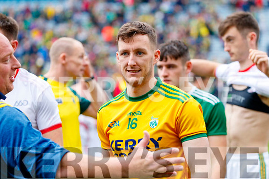 Brian Kelly, Kerry celebrates after the All Ireland Senior Football Semi Final between Kerry and Tyrone at Croke Park, Dublin on Sunday.