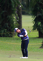 Justin Quiban (PHI) in action on the 6th during Round 1 of the Maybank Championship at the Saujana Golf and Country Club in Kuala Lumpur on Thursday 1st February 2018.<br /> Picture:  Thos Caffrey / www.golffile.ie<br /> <br /> All photo usage must carry mandatory copyright credit (&copy; Golffile | Thos Caffrey)