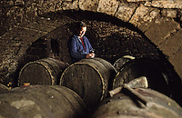 Europe/France/89/Yonne/Saint Bris le Vineux : Joel Griffe viticulteur à Chitry [Non destiné à un usage publicitaire - Not intended for an advertising use]<br /> PHOTO D'ARCHIVES // ARCHIVAL IMAGES<br /> FRANCE 1990