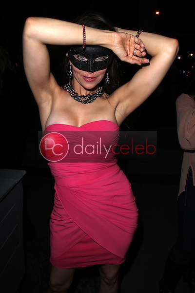 Alicia Arden wearing Stewart Helms jewelry<br />