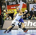 12.01.2019, Mercedes Benz Arena, Berlin, GER, Germany vs. Brazil, im Bild <br /> Paul Drux (GER #95), Gustavo Rodrigues (BRA #95)<br />      <br /> Foto &copy; nordphoto / Engler