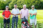 Kieran O'Keeffe Rathmore George Savage Tralee, Donal O'Sullivan Castletownbere and Ricky Keane Dingle at the Liebherr golf classic in Killarney Golf Course on Friday