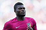 Thomas Teye Partey of Atletico de Madrid during the La Liga match between Atletico de Madrid vs Osasuna at Estadio Vicente Calderon on 15 April 2017 in Madrid, Spain. Photo by Diego Gonzalez Souto / Power Sport Images