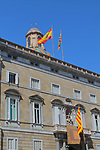 Diada Nacional 2017.<br /> Palau de la Generalitat.