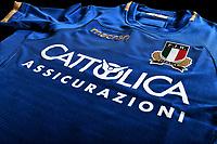 Roma 3/7/2018<br /> Close Up Maglia Rugby Macron  FIR / CATTOLICA <br /> Foto Antonietta Baldassarre / Federugby <br /> Insidefoto for Corporate <br /> redazione@insidefoto.com