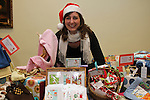 "Ciara Travers from ""Mukky Monkey"" at the Christmas Craft Fair in The Boyne Valley Hotel...(Photo credit should read Jenny Matthews www.newsfile.ie)....This Picture has been sent you under the conditions enclosed by:.Newsfile Ltd..The Studio,.Millmount Abbey,.Drogheda,.Co Meath..Ireland..Tel: +353(0)41-9871240.Fax: +353(0)41-9871260.GSM: +353(0)86-2500958.email: pictures@newsfile.ie.www.newsfile.ie."