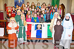 WE BRING PEACE: Over forty children from the Sult's Sproi children's choir in Castlegregory will bring a message of peace to St Mary's Church in the village on Thursday December 22nd.