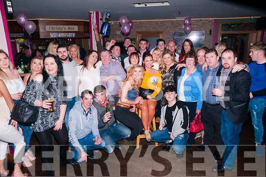 21st Birthday : Rachel O'Gorman, Listowel celebrating her 21st birthday with family & friends at Christy's Bar, Listowel on Saturday night last.