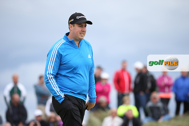 Ryan Evans (ENG) during Round One of the 2016 Aberdeen Asset Management Scottish Open, played at Castle Stuart Golf Club, Inverness, Scotland. 07/07/2016. Picture: David Lloyd | Golffile.<br /> <br /> All photos usage must carry mandatory copyright credit (&copy; Golffile | David Lloyd)
