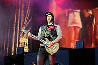 DERBY, ENGLAND - JUNE 8: Zacky Vengeance of 'Avenged Sevenfold' performing at Download Festival, Donington Park on June , 2018 in Derby<br /> CAP/MAR<br /> &copy;MAR/Capital Pictures