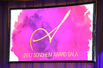 Congratulations at the 2017 Sondheim Award Gala at the Italian Embassy on March 20, 2017 in Washington, D.C..