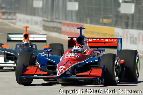 31 August 2007: Sarah Fisher (USA) at the Detroit Belle Isle Grand Prix, Detroit, Michigan.