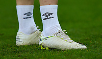 A close up of the boots of Blackburn Rovers' Harrison Reed<br /> <br /> Photographer Alex Dodd/CameraSport<br /> <br /> Emirates FA Cup Third Round - Newcastle United v Blackburn Rovers - Saturday 5th January 2019 - St James' Park - Newcastle<br />  <br /> World Copyright &copy; 2019 CameraSport. All rights reserved. 43 Linden Ave. Countesthorpe. Leicester. England. LE8 5PG - Tel: +44 (0) 116 277 4147 - admin@camerasport.com - www.camerasport.com